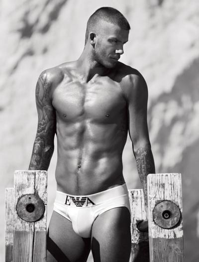 Depiliuotas vyro kūnas - David Beckham